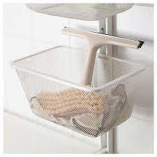 algot wall upright shelves drying rack metal white 132x61x199 cm