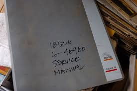 case 1850k crawler dozer repair shop service manual book overhaul