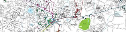 Streetwise Maps Streetwise Zambia