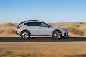 blue subaru crosstrek subaru crosstrek 2 0i limited first test motor trend