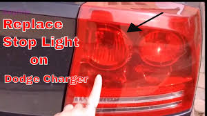 how to change rear light bulb dodge charger youtube