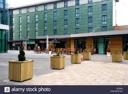 glass house pub restaurant in front of travel inn barnsley s