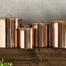 copper canisters kitchen copper kitchen canisters vintage and copper canisters kitchen
