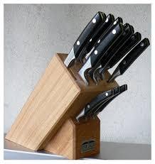 bloc couteau cuisine vente couteau de cuisine par goyon chazeau forgé manche thiers en