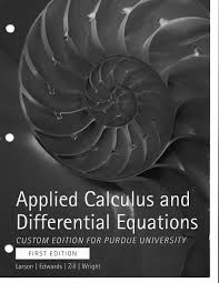 applied calculus and differential equations custom edition for
