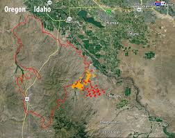 a map of oregon fires soda in idaho nears containment wildfire today