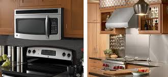 how to install over the range microwave without a cabinet over the range microwave or residential hood installation ebel s