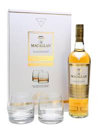 macallan gold 2 glass gift set scotch whisky the whisky exchange
