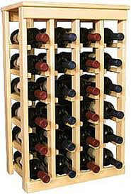 how to build a wine cellar rack leaftv