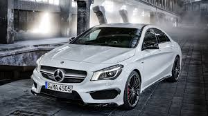 mercedes models 2014 5 sports cars with less horsepower than the mercedes cla45