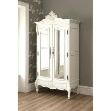 White Wardrobe Cabinet Armoire Glass Doors Related White Wardrobe Closet Tall Antique