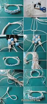 bracelet shamballa diy images Diy adjustable triple row shamballa beaded bracelet fab art diy jpg