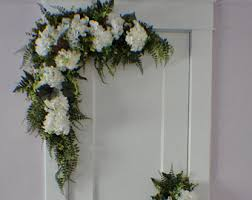 flower arch wedding arch swag etsy