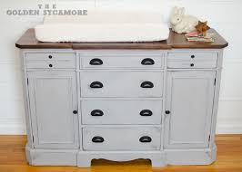 Changing Table Dresser Cherry Changing Table Dressers Updated Dresser Turned Hometalk 12 White
