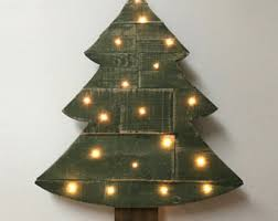 pallet christmas tree pallet christmas etsy