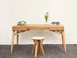 bureau design scandinave bureau bois design 50 belles propositions