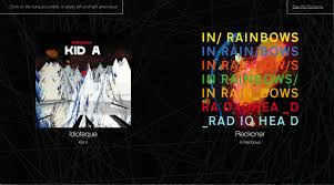 Radiohead King Of Limbs From The Basement We All Love Radiohead And Ranking Their Songs So I Built A Site
