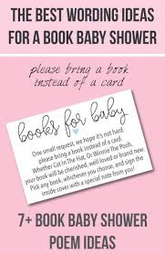 gift card baby shower poem book baby shower invitations wording ideas cutestbabyshowers