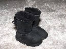 s ugg bailey boots ugg bailey bow boots s n 3280t toddler size 6 genuine