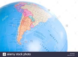 World Map South America by Globe World Map From South America With Shalow Depth Of Field And