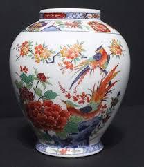 shogun dynasty porcelain decorative ornamental vase made in japan