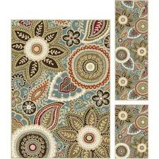 Area Rugs Sets Green Rug Sets Area Rugs Rugs The Home Depot
