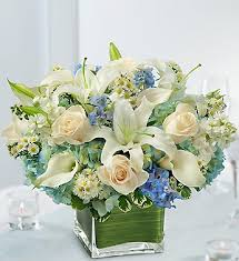 Cube Vase Centerpieces by Modern Cube Vases