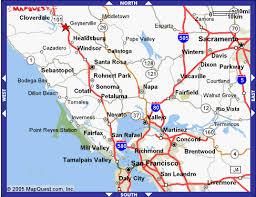 petaluma ca map cyndi s michael s wedding transportation