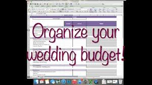 wedding planner budget template how to wedding budget on excel wedding planning youtube how to wedding budget on excel wedding planning