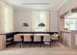 table cuisine design poliform grace chairs in a villa in munich by michale neumayr
