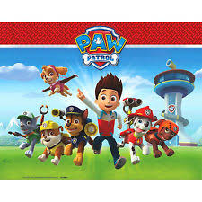 american paw patrol plastic table cover 54 96in party