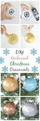 vikalpah diy embossed christmas ornaments