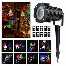 11 Best Outdoor Holiday Lights by Christmas Best Outdoor Christmas Projection Lights Walmartr