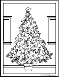 christmas tree coloring page printable 42 coloring pages customize printable pdfs
