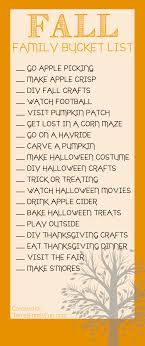 fall family list things to do with the family this fall
