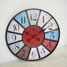 unique large wall clocks like this item wall clock rustic wall