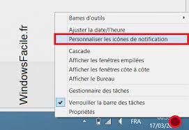 afficher les icones du bureau supprimer l icône fra barre des tâches windowsfacile fr
