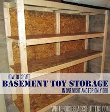 Building Wood Shelf Garage by Best 25 Basement Storage Shelves Ideas On Pinterest Diy Storage
