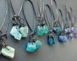 in earrings pyrite earrings chagne teardrop earrings