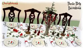 Christmas Dinner Centerpieces - holiday dinner table decorating christmas centerpieces winter