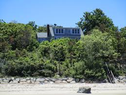 picturesque private beachfront house homeaway brewster