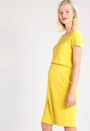 queen mum shift dress yellow zalando co uk