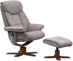fabric swivel recliner chairs gfa exmouth mink fabric swivel recliner chair go