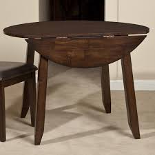 Wood Drop Leaf Table Belfort Select Cabin Creek Wooden Round Top Drop Leaf Dining Table