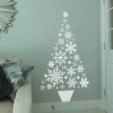 Ideas For Christmas Tree Alternatives by Best 25 Wall Christmas Tree Ideas On Pinterest Xmas Trees Real