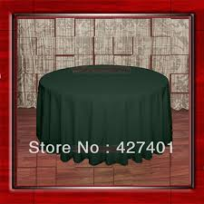 forest green table linens 108 round forest green 210gsm polyester plain table cloth for