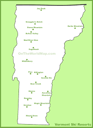 Ski Resorts In Colorado Map by Map Of Vermont Ski Resorts