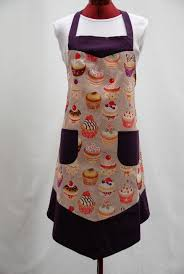 tablier cuisine femme apron of cooking kitchen made unique only cup cake