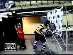 Helmet Chair Hockey Player Fights Then Smashes His Helmet And Throws A Chair