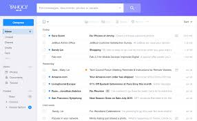 yahoo email not pushing to iphone yahoo mail rolls out a rebuilt redesigned service including a new